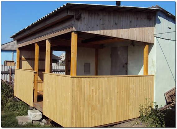 Веранда к дому проекты фото на даче своими руками пошагово