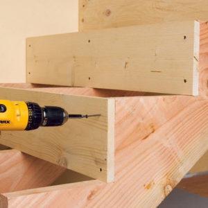 Деревянная лестница на второй этаж своими руками — легко и просто