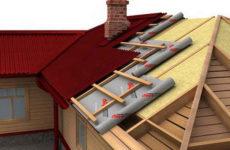 Гидроизоляция крыши: подкровельная пленка